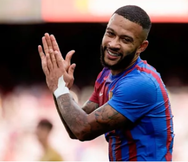 Depay emphasizes not regret joining the Barca