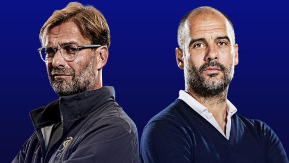 Klopp's managerial record against Guardiola
